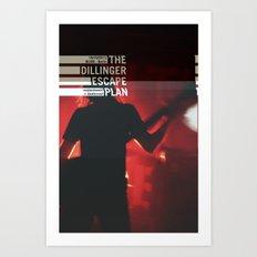 The Dillinger Escape Plan live aus Berlin Art Print