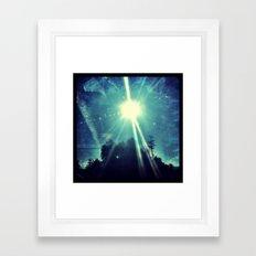 California sunshine. Framed Art Print