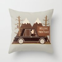 A Place Both Wonderful And Strange Throw Pillow