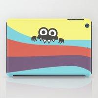 Yummy Colorful Stripes Cute Cartoon Character iPad Case