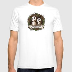 Save Kodamas V2 Mens Fitted Tee SMALL White