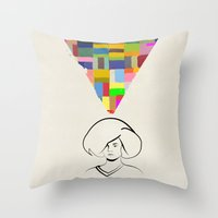 If I was you Throw Pillow