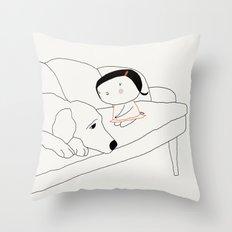 Hectora 3 Throw Pillow