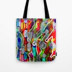 Finger's city Tote Bag