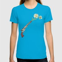 Peacemaker Womens Fitted Tee Teal SMALL