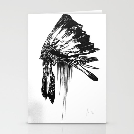 Native Living Stationery Card