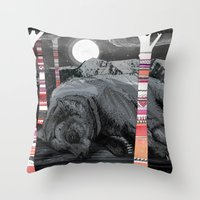 Sweet Dreams Ursus Arctu… Throw Pillow