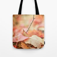Forest Floor In Autumn Tote Bag