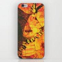 Fear Yellow iPhone & iPod Skin