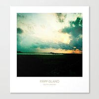 Sunset - Fripp Island South Carolina Canvas Print