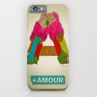 iPhone & iPod Case featuring + Amour by Elizabeth Cakovan