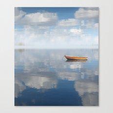 Reflected Shanti Canvas Print