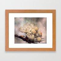 Springtime galaxy Framed Art Print