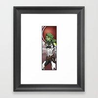 Most Dangerous Woman Framed Art Print
