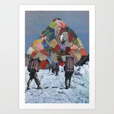The Climb Art Print