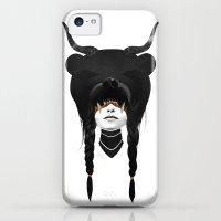 iPhone 5c Cases featuring Bear Warrior by Ruben Ireland