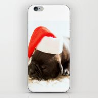 Christmas Dog iPhone & iPod Skin