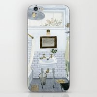In The Bathroom iPhone & iPod Skin