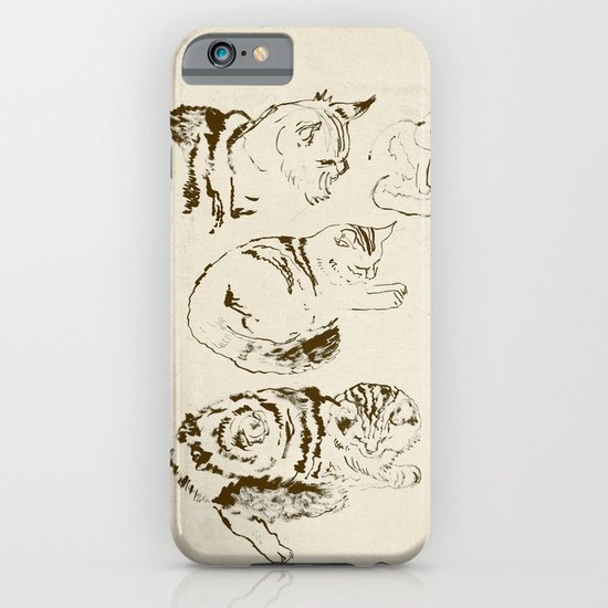 Harryhausen (full page version) iPhone & iPod Case
