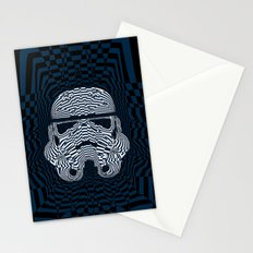 Storm and radiation Stationery Cards