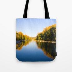 Autumn Reflections - Calgary, AB Tote Bag