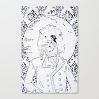 Richard Coeur Canvas Print