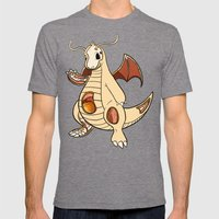 Dragonite Anatomy Mens Fitted Tee Tri-Grey SMALL