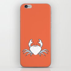 Crab iPhone & iPod Skin
