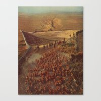 alpacalypse Canvas Print