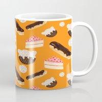 sweet things (on orange) Mug