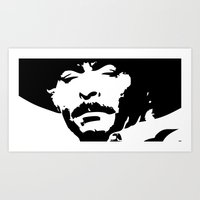 Lee van Cleef - Cowboy BD Art Print