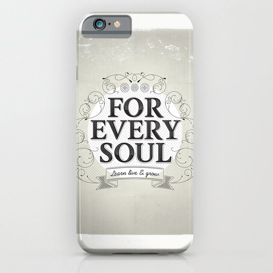 Every Soul iPhone & iPod Case