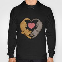 Cat Love Dog Hoody