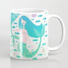 Koi Mermaids – Turquoise Ombré Palette Mug