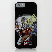 iPhone & iPod Case featuring Zombie Rush  by Shawn Norton Art