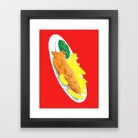 Fish, 2013. Framed Art Print