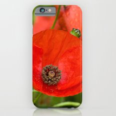 Wild Red Poppies Slim Case iPhone 6s