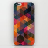 Triangle Coloured Pattern iPhone & iPod Skin