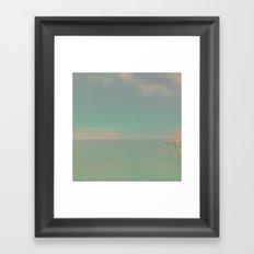 The California Summer Series // Pier Framed Art Print