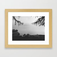 Gillette Lake Framed Art Print
