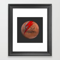 Life on Mars? Framed Art Print