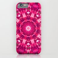 Pink mandala of the stones iPhone 6 Slim Case