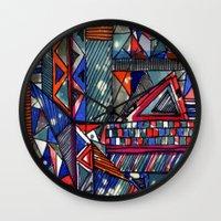 Tribal Texture Wall Clock