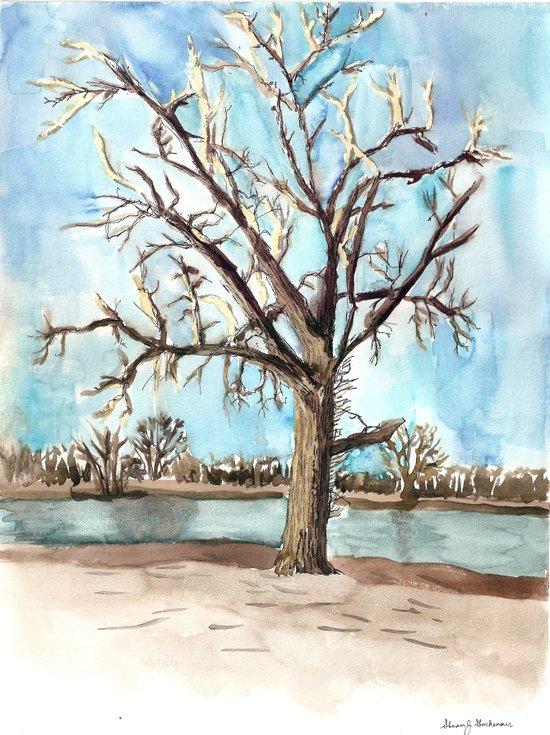 flood survivor Art Print