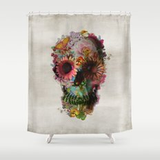 SKULL 2 Shower Curtain