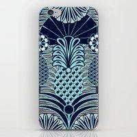 Arty Pineapples iPhone & iPod Skin