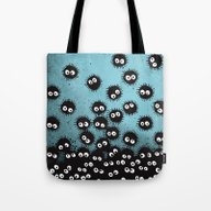 Tote Bag featuring Sootballs by Davies Babies