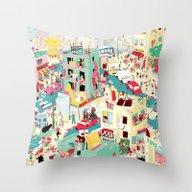Ungeheuerlich Tel-Aviv Throw Pillow