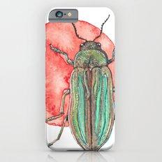 Iridescent Beetle iPhone 6 Slim Case