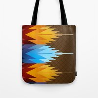 Navajo Fire & Ice Tote Bag
